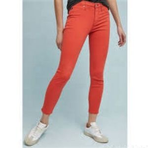 AG The Abbey Mid-Rise Super Skinny Ankle Jeans 24